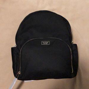 NWT Large Dawn black Kate spade backpack